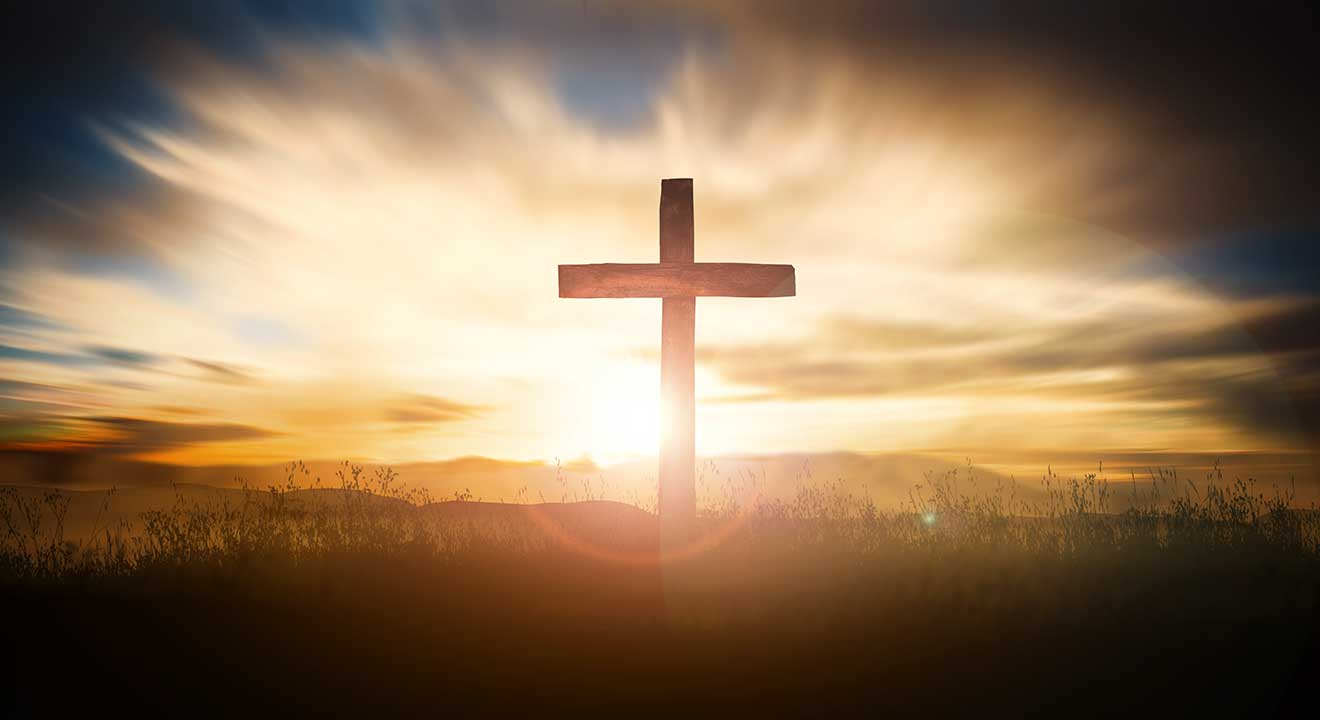 cross with sunrise for Celebrating Songs of the Resurrection article