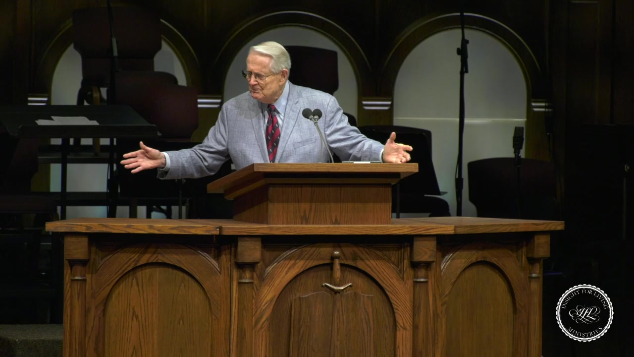 Chuck in pulpit 20200614