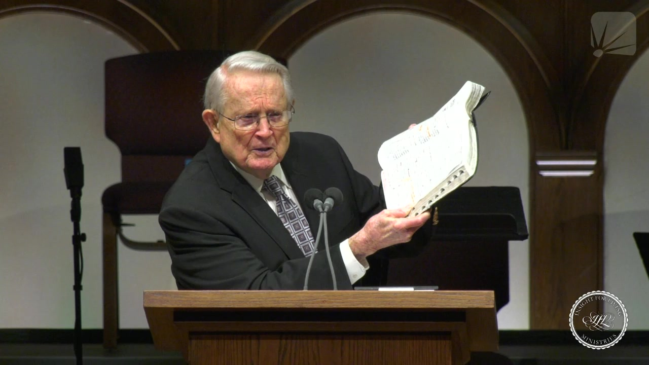 Chuck in pulpit on January 24, 2021