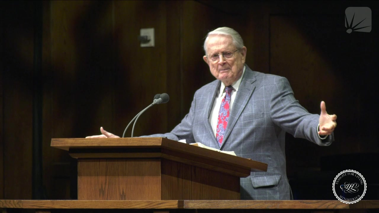 Chuck in pulpit on January 31, 2021