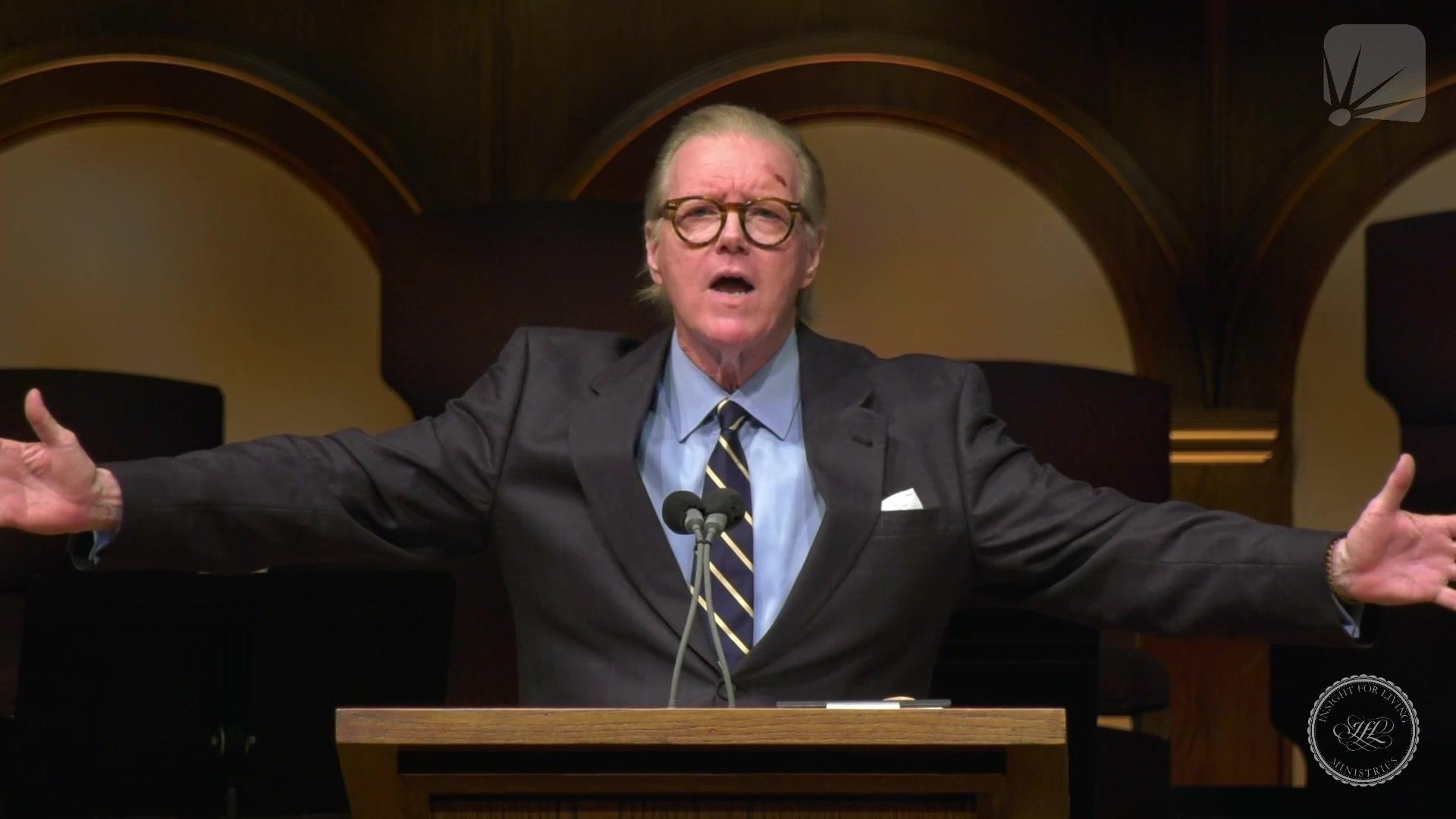 Rev. Bill Butterworth in pulpit on 20210718