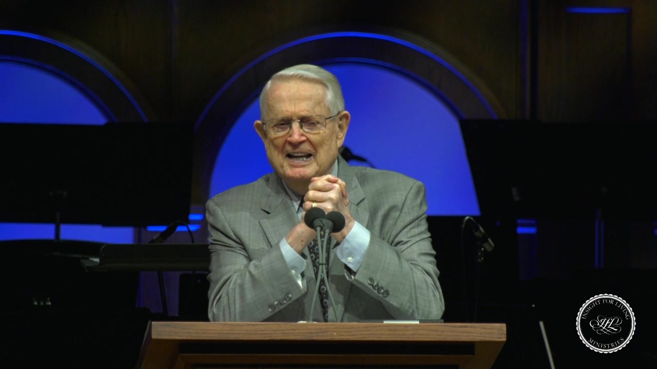 image of Chuck in pulpit