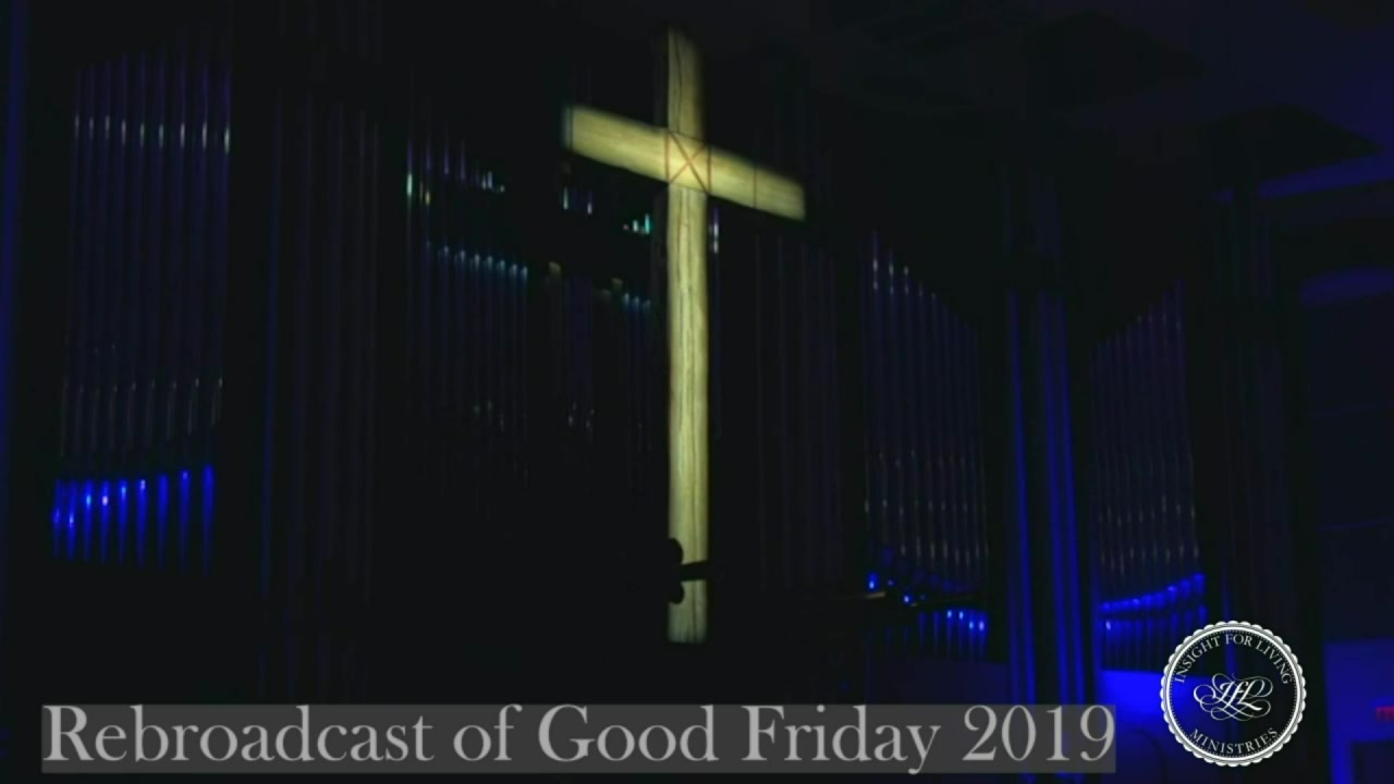 image of cross for Good Friday service