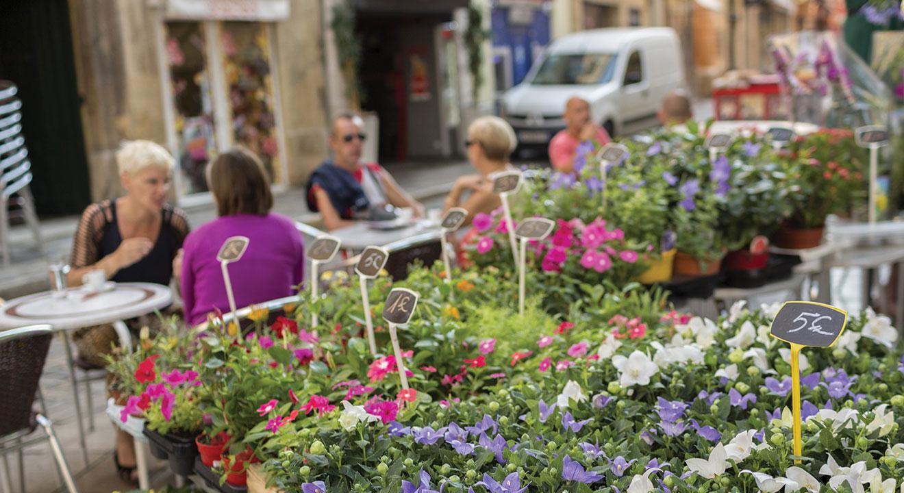 garden sidewalk cafe