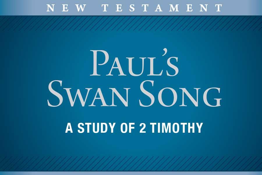 Paul's Swan Song
