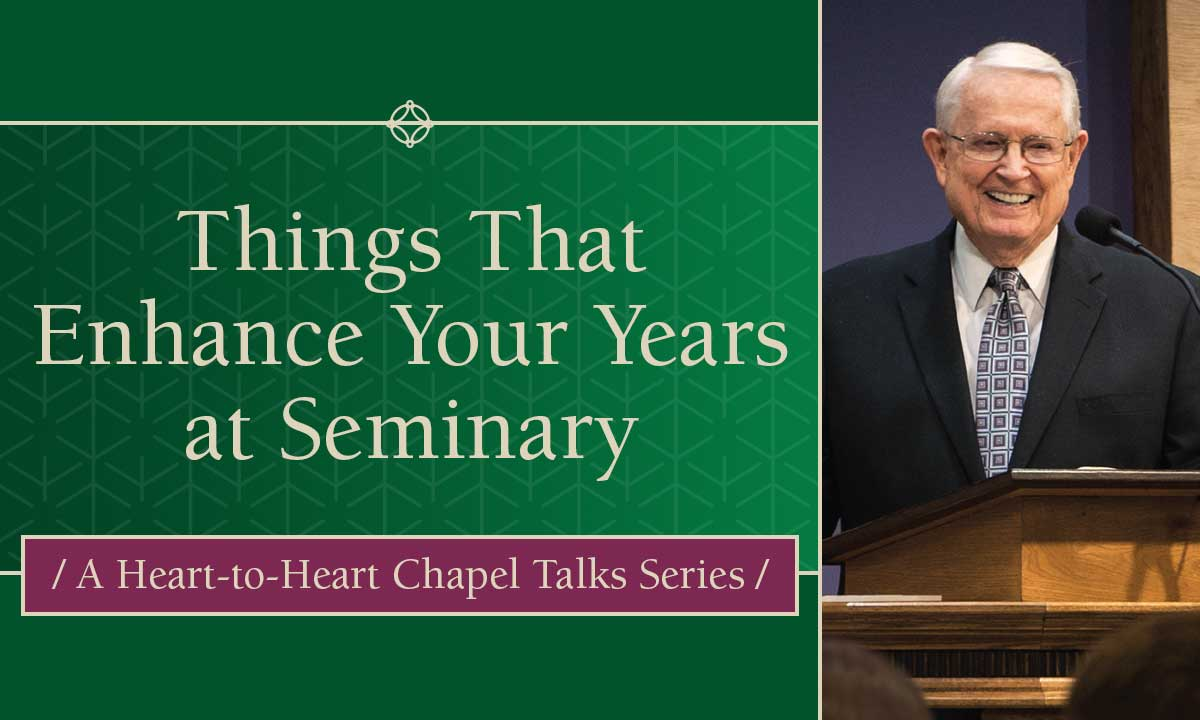 Things That Enhance Your Years at Seminary
