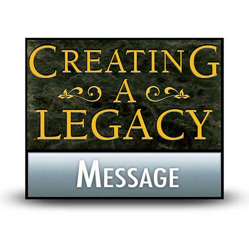 Creating a Legacy of Moral Purity