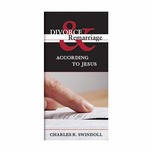 Divorce & Remarriage According to Jesus