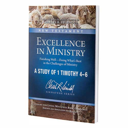 Excellence in Ministry: Finishing Well—Doing What's Best in the Challenges of Ministry—A Study of 1 Timothy 4–6 Bible Companion