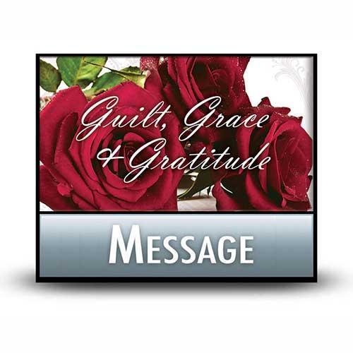Giving Thanks for God's Grace