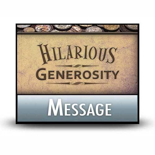 A Needed Return to Joyful Generosity