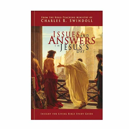 Issues and Answers in Jesus's Day