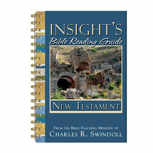 Insight's Bible Reading Guide: New Testament –<em>by Insight for Living Ministries</em>