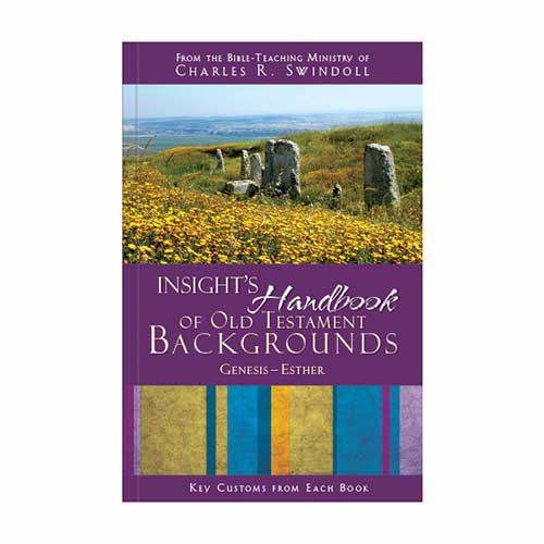 Insight's Handbook of Old Testament Backgrounds: Key Customs from Each Book, Genesis–Esther –<em>by Insight for Living Ministries</em>