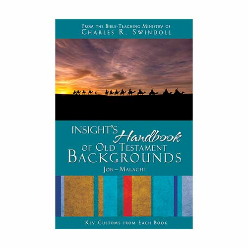 Insight's Handbook of Old Testament Backgrounds: Key Customs from Each Book, Job-Malachi