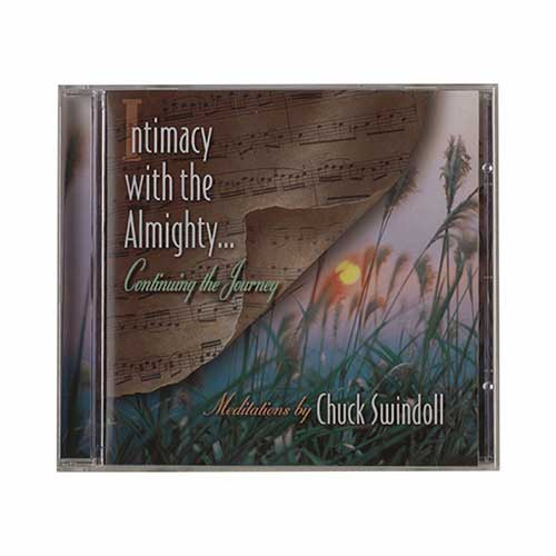 Intimacy with the Almighty . . . Continuing the Journey