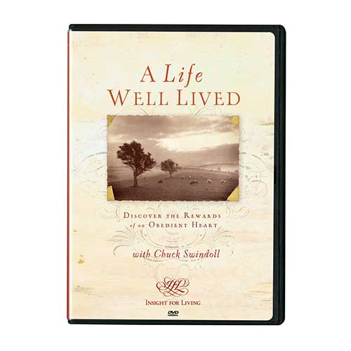 A Life Well Lived: Discover the Rewards of an Obedient Heart, DVD