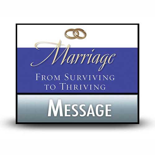 Danger Signs of Marital Erosion
