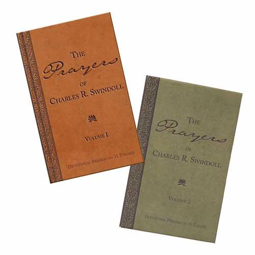 The Prayers of Charles R. Swindoll, Volume 1 & 2 Set -<em>by Charles R. Swindoll</em>