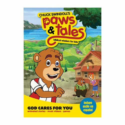 Paws & Tales: Biblical Wisdom for Kids: God Cares for You