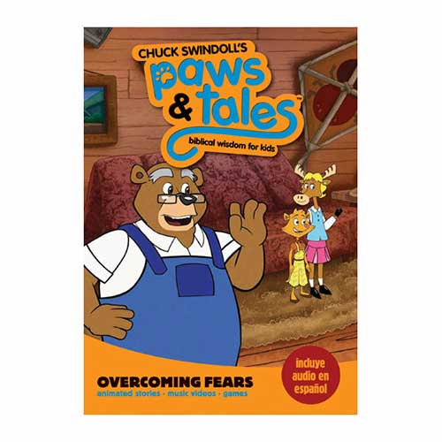 Paws & Tales: Biblical Wisdom for Kids: Overcoming Fears