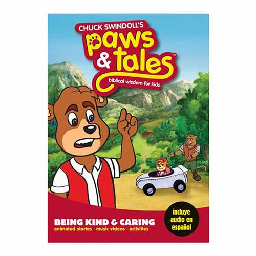 Paws & Tales: Biblical Wisdom for Kids: Being Kind & Caring