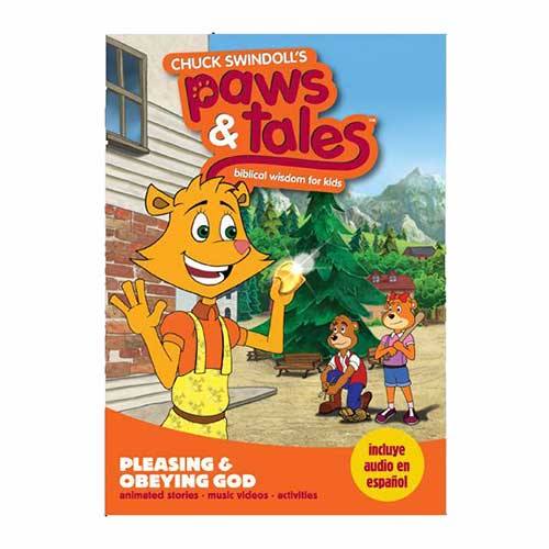 Paws & Tales: Biblical Wisdom for Kids: Pleasing & Obeying God