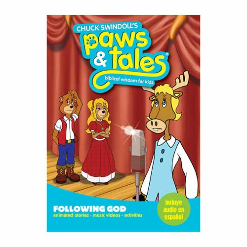 Paws & Tales: Biblical Wisdom for Kids: Following God