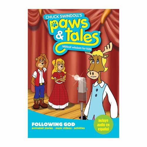 Paws & Tales: Biblical Wisdom for Kids: Following God
