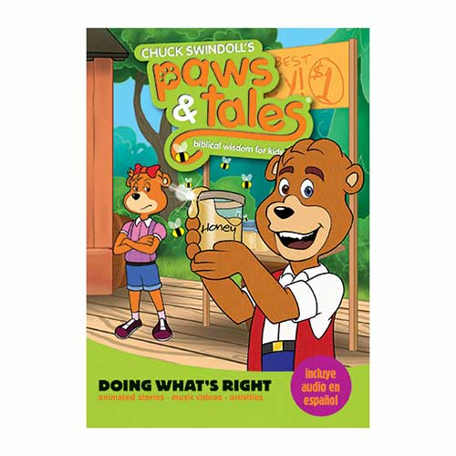 Paws & Tales: Biblical Wisdom for Kids: Doing What's Right