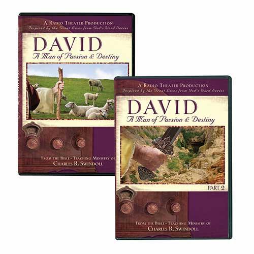 David Radio Theater Set, Volume 1 & 2