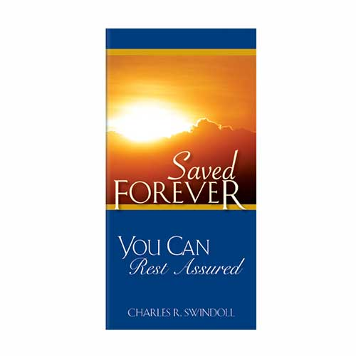 Saved Forever: You Can Rest Assured
