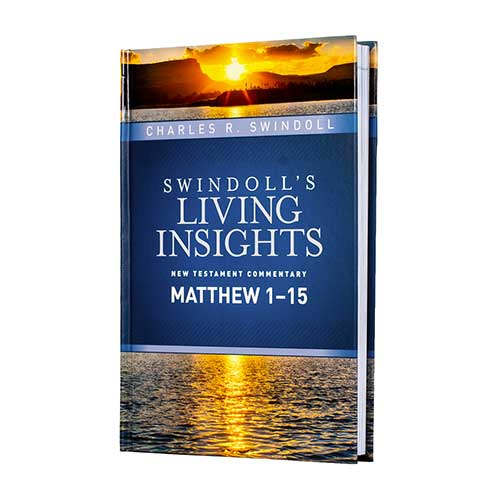 Swindoll's Living Insights: Matthew 1–15