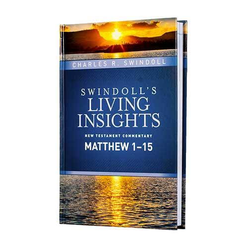 Swindoll's Living Insights New Testament Commentary: <em>Insights on Matthew 1-15</em>