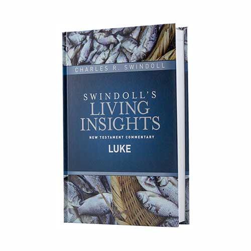 Swindoll's Living Insights New Testament Commentary <em>Insights on Luke</em>
