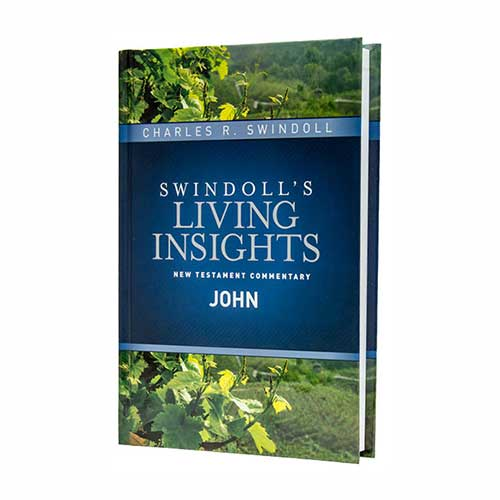 Swindoll's Living Insights New Testament Commentary <em>Insights on John</em>