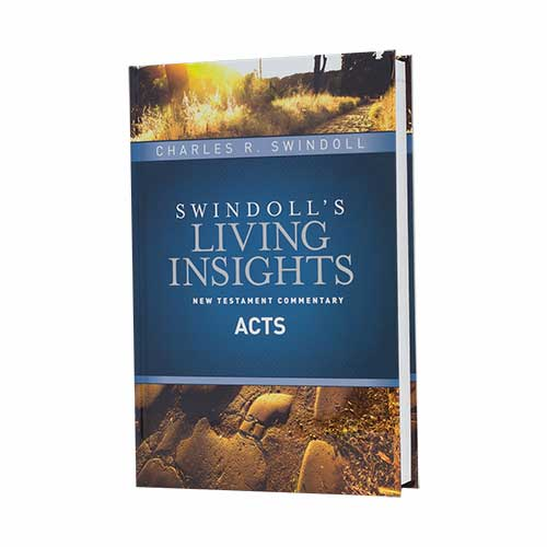 Swindoll's Living Insights New Testament Commentary: Acts