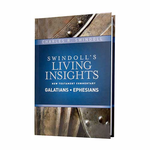 Swindoll's Living Insights New Testament Commentary <em>Insights on Galatians and Ephesians</em>