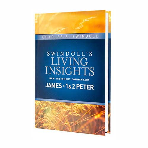 Swindoll's Living Insights New Testament Commentary: James, 1 & 2 Peter
