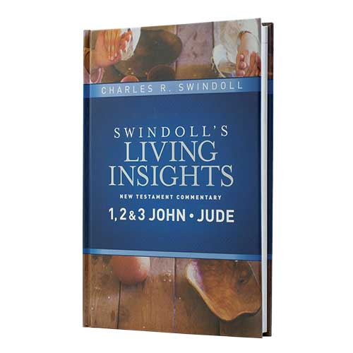 Swindoll's Living Insights New Testament Commentary: 1, 2 & 3 John, Jude