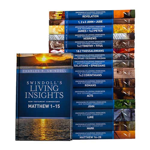 Swindoll's Living Insights New Testament Commentary: Complete Set