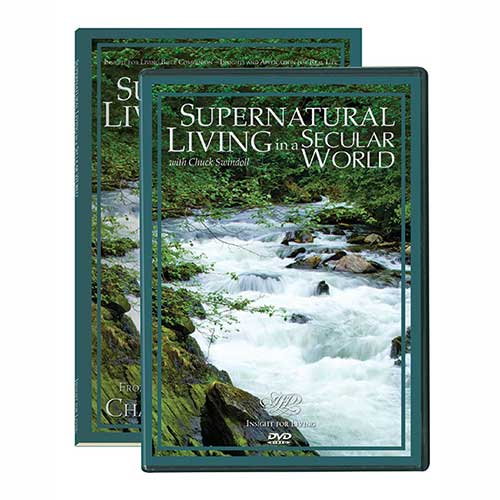 Supernatural Living in a Secular World, DVD and Bible Companion Set
