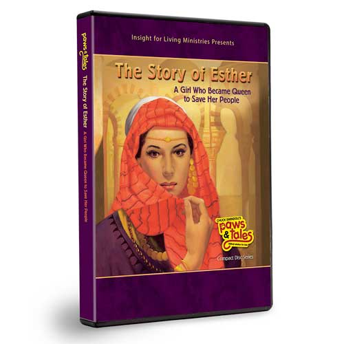 Paws & Tales: The Story of Esther, A Girl Who Became Queen to Save Her People