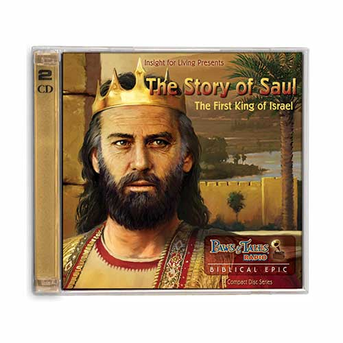 Paws & Tales: The Story of Saul: The First King of Israel