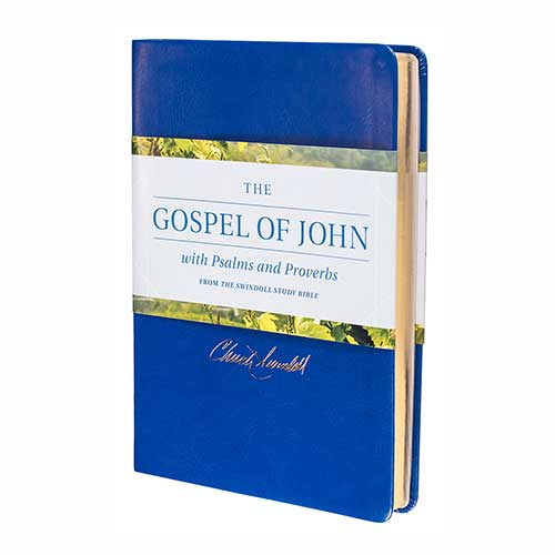 The Gospel of John with Psalms and Proverbs from the Swindoll Study Bible