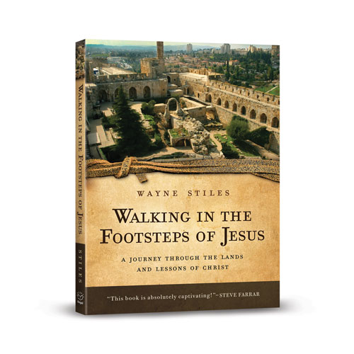 Walking in the Footsteps of Jesus: A Journey through the Lands and Lessons of Christ –<em>by Wayne Stiles</em>