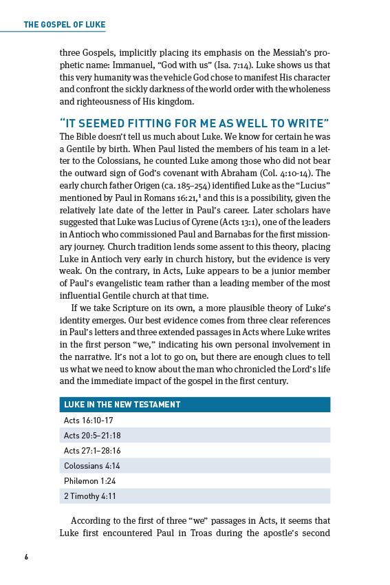 Swindoll's Living Insights New Testament Commentary Insights on Luke