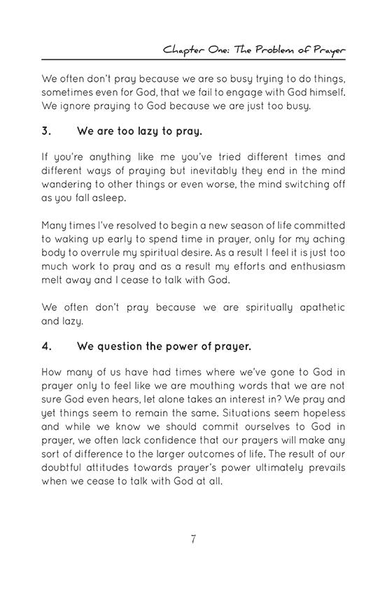 Prayer: An Invitation to Meet with God