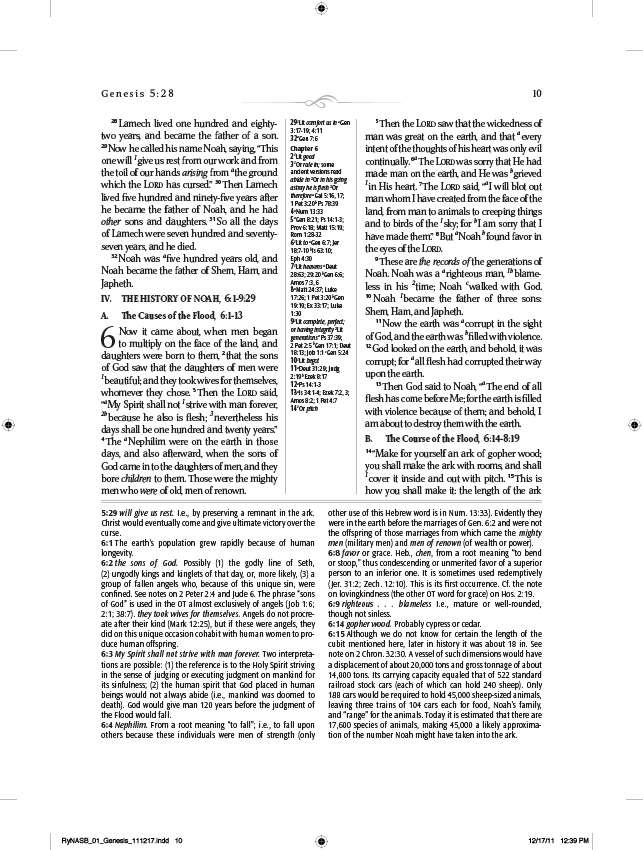 The Ryrie NASB Study Bible