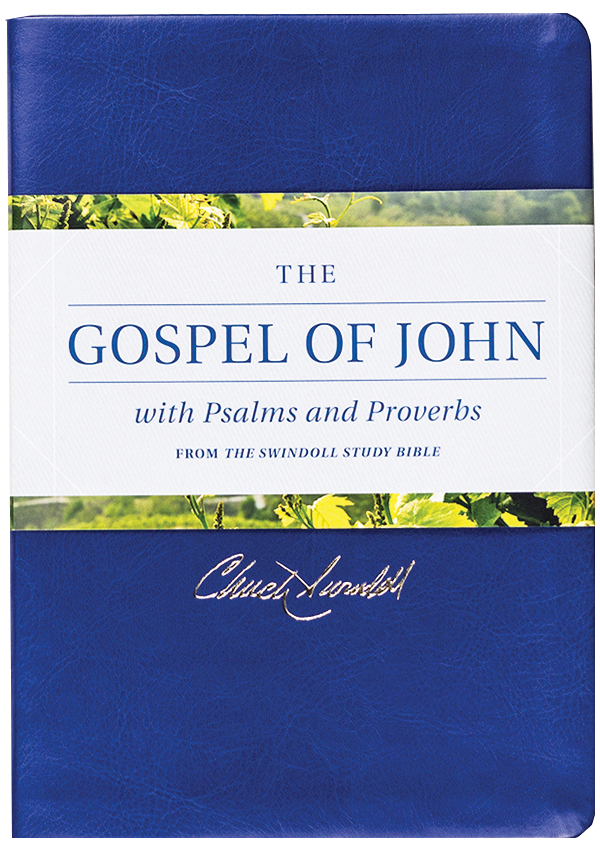 The Gospel Of John With Psalms And Proverbs From The